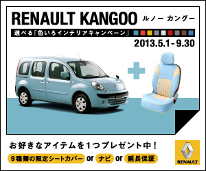 RENAULT KANGOO ルノーカングー 300×250